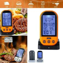 Wireless Remote Digital Cooking Food Probe Meat Thermometer
