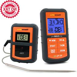 Wireless Remote Digital Cooking Turkey Food Meat Thermometer