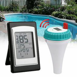 Wireless Remote Floating Thermometer Swimming Pool Waterproo