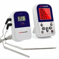 ThermoPro Digital Wireless Cooking Meat Thermometer 2 Probes
