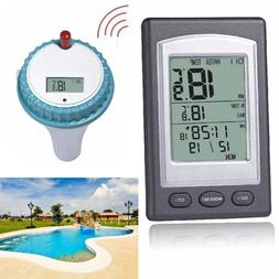 Wireless Remote Waterproof Floating Thermometer For Swimming