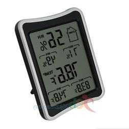 LCD Digital Wireless Room Thermometer Weather Hygrometer Hum