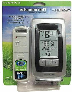 AcuRite Wireless Temperature Weather and Intelli-Time Clock