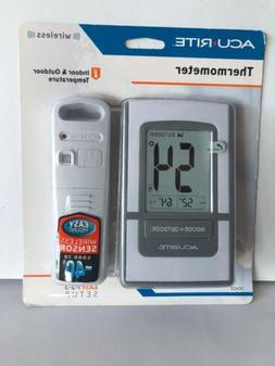 Acurite Wireless Thermometer Indoor/Outdoor Temperature Bran