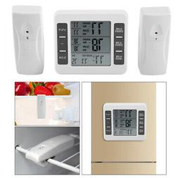 Wireless Thermometer Indoor/Outdoor Temperature w/ 2pcs Humi