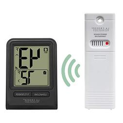 La Crosse Technology Wireless Thermometer - Black