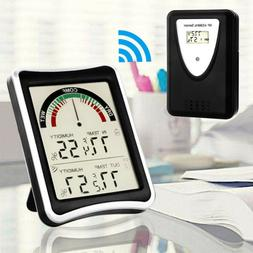 Wireless Thermometer Weather Temperature Humidity Meter for