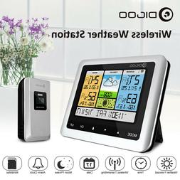 wireless weather forecast station thermometer barometer indo