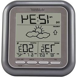 La Crosse Technology Wireless Weather Station, Grey, 1 ea