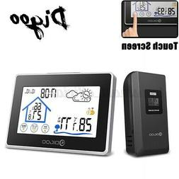DIGOO Wireless Weather Station In/Outdoor Hygrometer Thermom