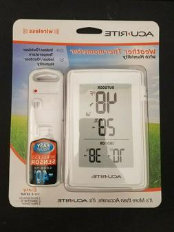 ACURITE WIRELESS WEATHER THERMOMETER 00609SB