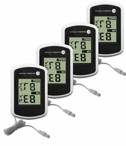 Ambient Weather WS-02 Compact Indoor/Outdoor Thermometer wit