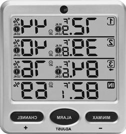 Ambient Weather WS-10-C Wireless Indoor/Outdoor 8-Channel Th