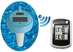 Ambient Weather WS-42 Wireless with Indoor Temperature and F