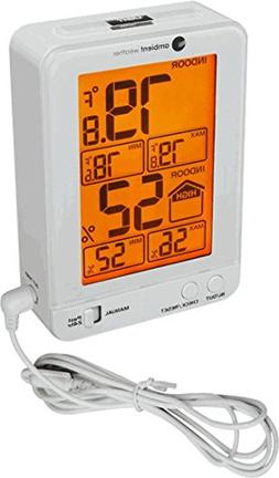 Ambient Weather WS-2063-W-P Indoor Temperature and Humidity