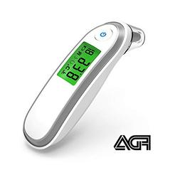 Yonker Digital Forehead and Ear Thermometer Medical Infrared